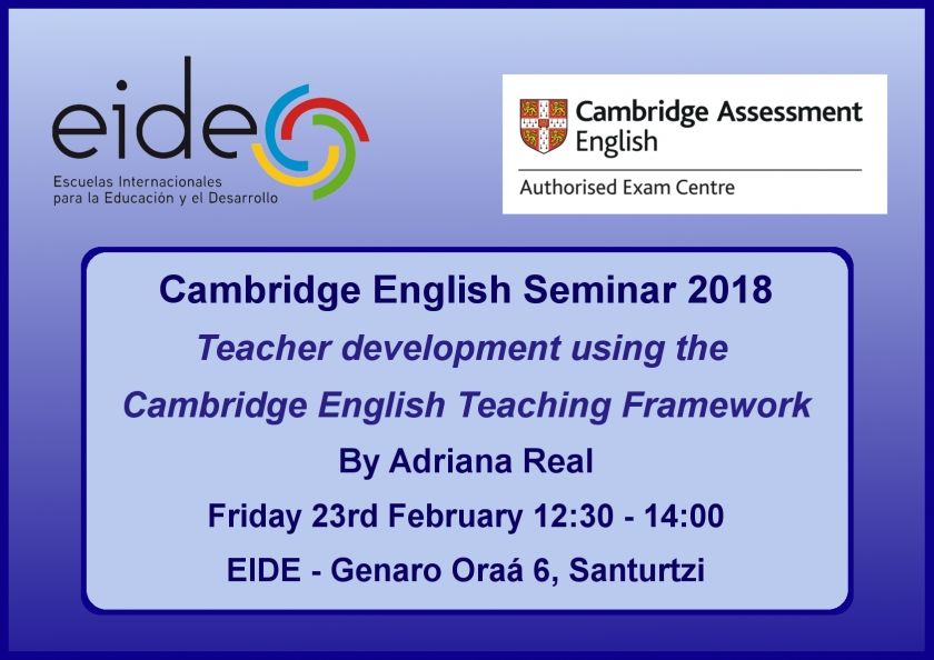 Cambridge English Seminar 2018
